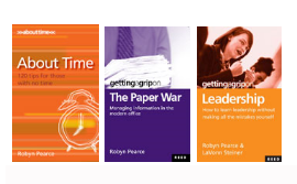 3 Book Value Pack – About Time, Paper War & Leadership