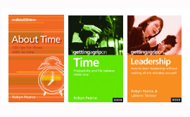 3 Book Value Pack – About Time, Time & Leadership
