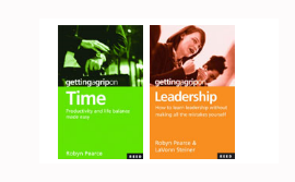 2 Book Value Pack &#8211; Time &amp; Leadership