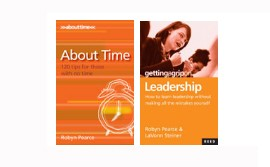 2 Book Value Pack &#8211; About Time &amp; Leadership