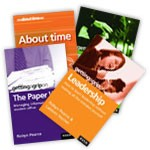 4 Book Value Pack &#8211; Time, About Time, Paper War &amp; Leadership