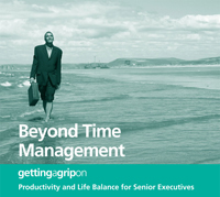 Beyond Time Management