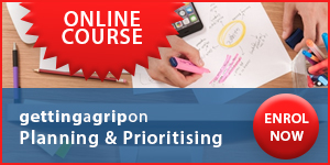 Getting A Grip On Planning & Prioritising Online Course